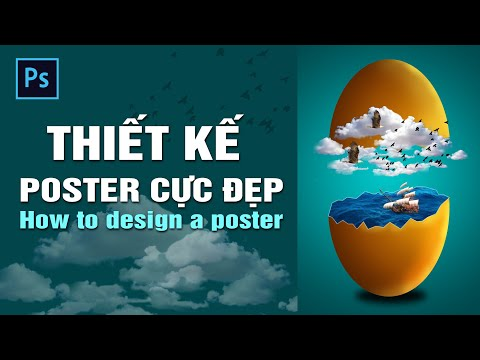 Hướng dẫn chi tiết thiết kế poster trong photoshop | How to design a poster