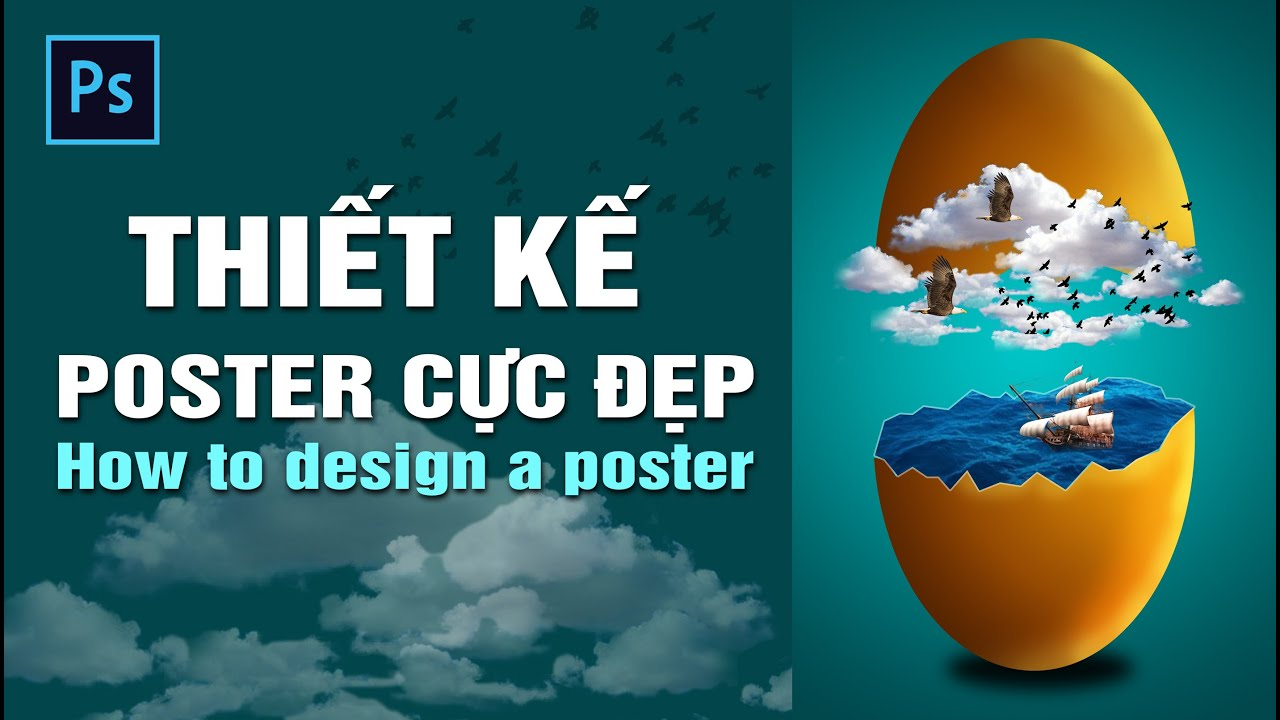 Hướng dẫn chi tiết thiết kế poster trong photoshop   How to design a poster