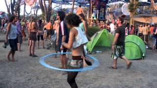 Cool Hula Hoop Dance