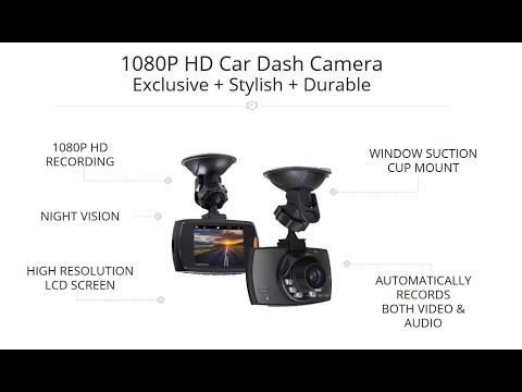 Dash Cam 2020 : GT300 1080P Car Dashcam