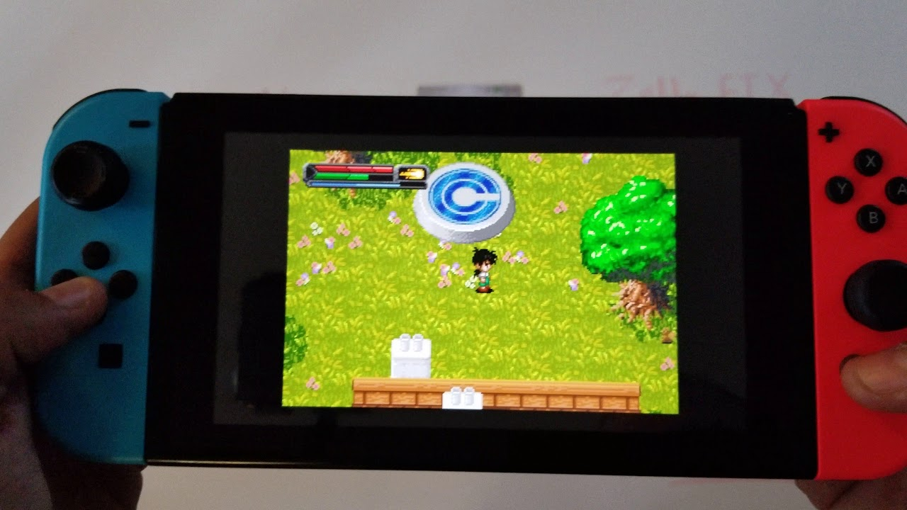 Homebrew Nintendo Switch New Game Boy Advance Emulator