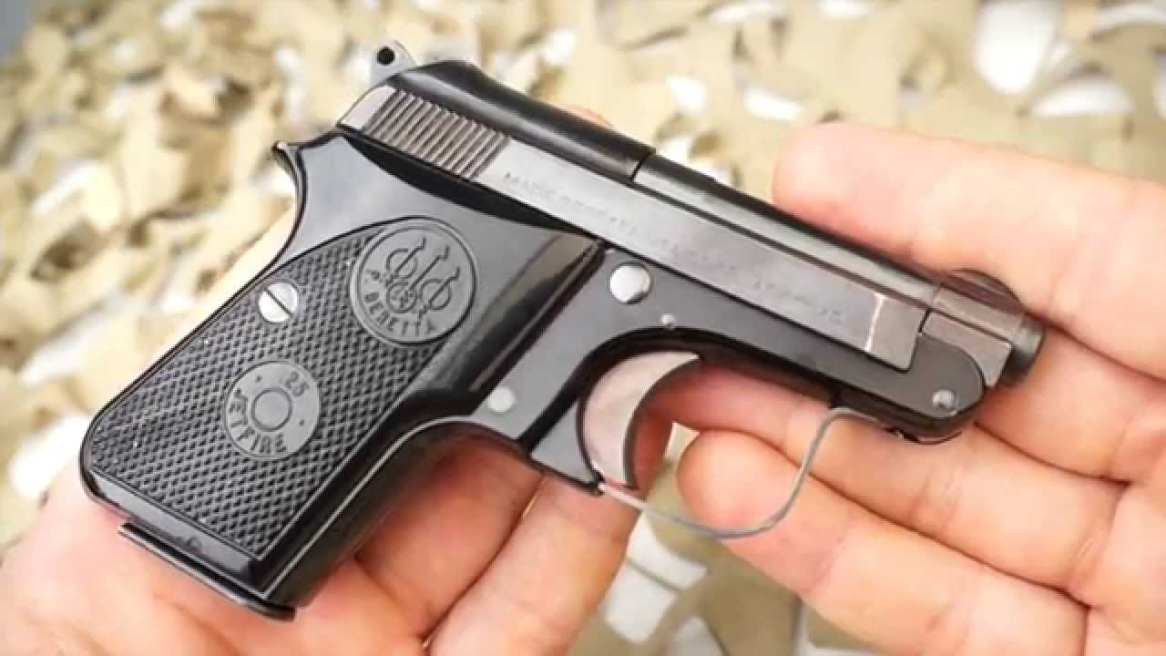 Beretta 950BS JetFire in  25 ACP: Initial thoughts and review
