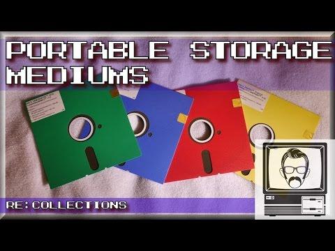 Tapes, Floppy Disks & CD-ROMs - Storage Mediums | Nostalgia Nerd