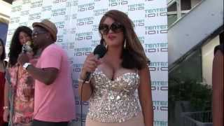 Karina Copado Poolside Collection fashion show