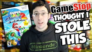 GAMESTOP Thought I STOLE a Nintendo Game!