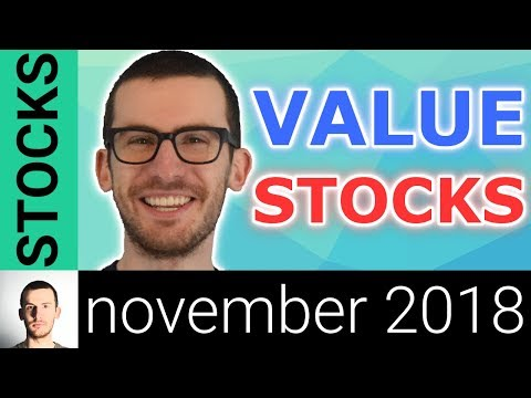 3 Stocks to Buy in November 2018? | Value Stocks I'm Watching