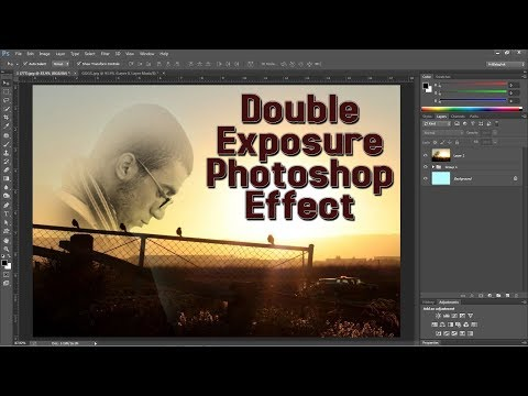 Double Exposure Photoshop Effect Photoshop Tutorial in Hindi thumbnail