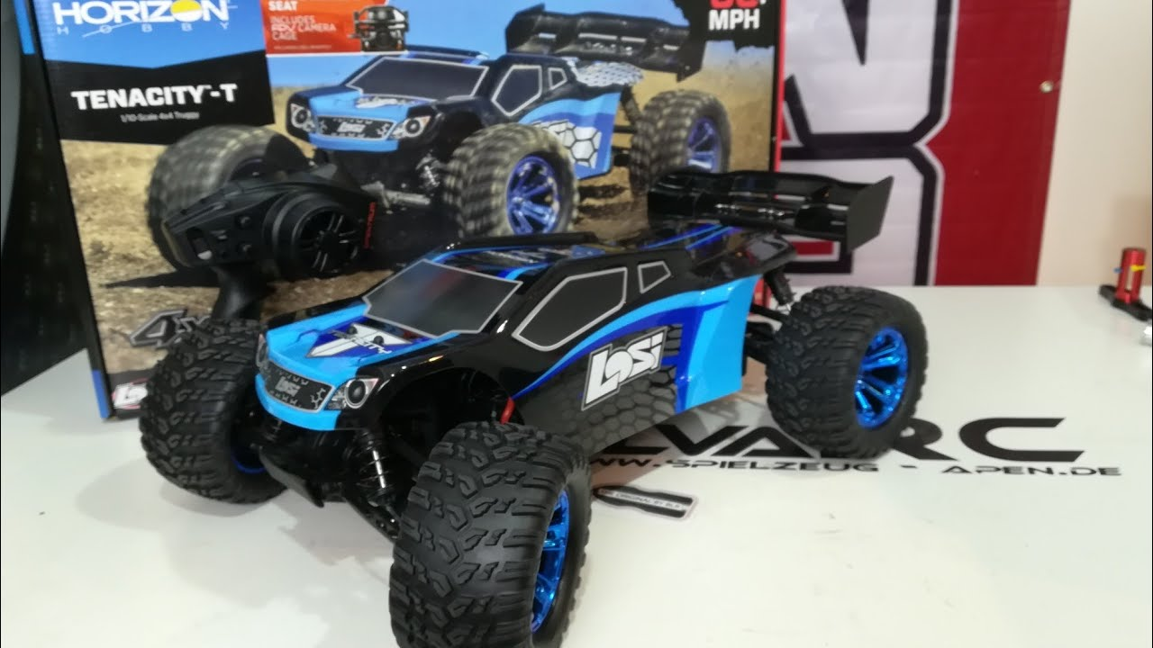 Unboxing: Losi Tenacity 1/10 Truggy RTR [deutsch/ german]