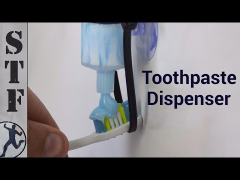 Make a Toothpaste Dispenser from a Syringe