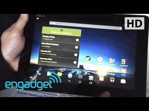 ASUS PadFone Infinity Hands-on at MWC 2013 | Engadget