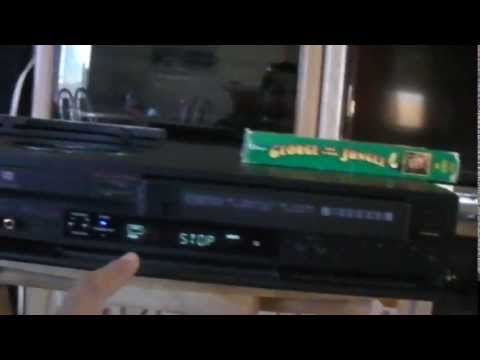 sony rdr vxd655 vcr dvd recorder 720 180i upscale youtube rh youtube com Sony Google TV Owners Manual Sony DVD Recorder User Manual