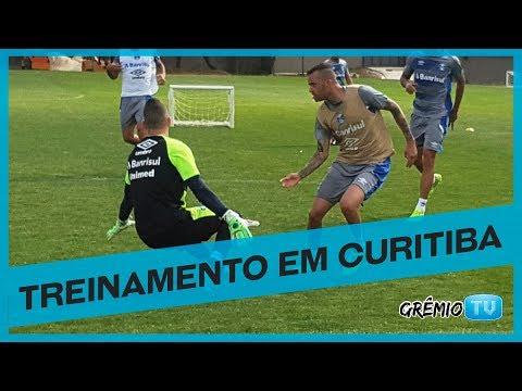 Tricolor treina em Curitiba l GrêmioTV