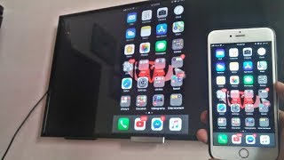 Screen Mirroring iPhone (Non-Apple TV) - Step by Step - 2017