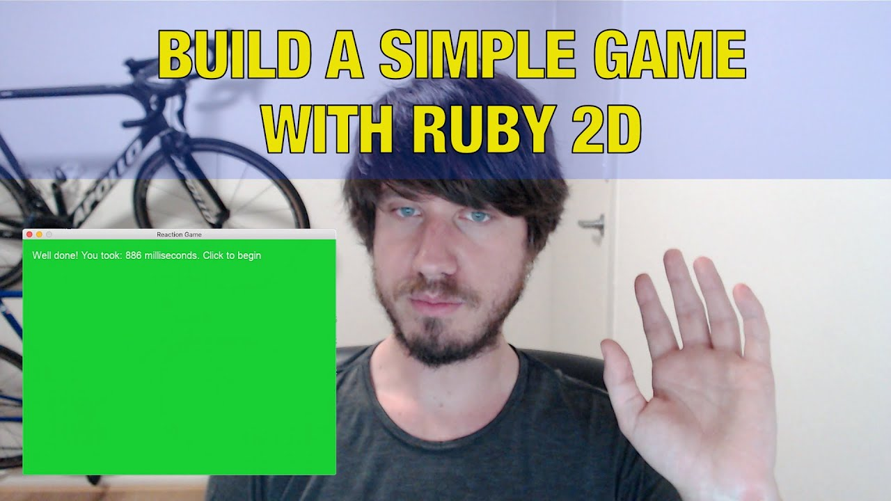 Ruby Programming Tutorial - Build a simple game with Ruby 2D