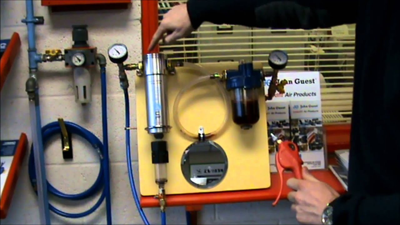 Pcl Dropout Water Separator Filter Demonstration