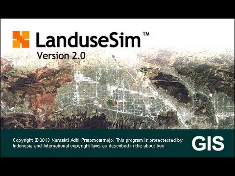 LanduseSim 2.0: Basic Tutorial - Land Use/Cover Change Model