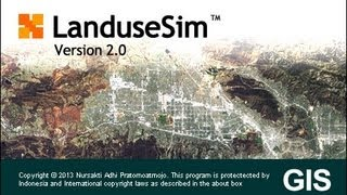 LanduseSim 2.0: Basic Tutorial - Land Use/Cover Change Modeling (Urban Growth Simulation)