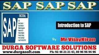 SAP    Introduction to SAP