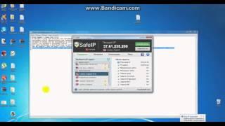 Программа для смены IP адреса SafeIP