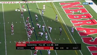 Pierson-El Hauls in TD Pass vs. Rutgers