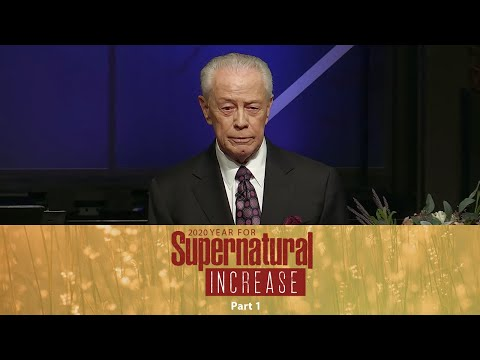 2020 Year For Supernatural Increase Part 1