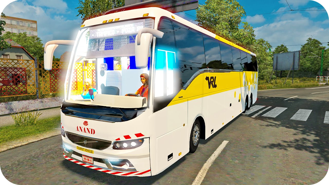 Volvo Bus 2015 Ets2 Euro Truck Simulator 2 Youtube