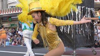 Asakusa Samba Carnival 2018 テーマ:大切なもの Sony FDR-AX55で向かっ...
