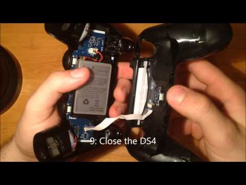 Dualshock 4 Lightbar turn OFF (no Damage on controler)