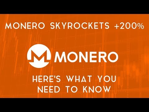 MONERO SKYROCKETS | Here's what you need to know
