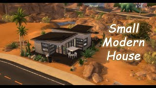 The Sims 4 | House Building (Stop Motion) | Small Modern House for SingleMom