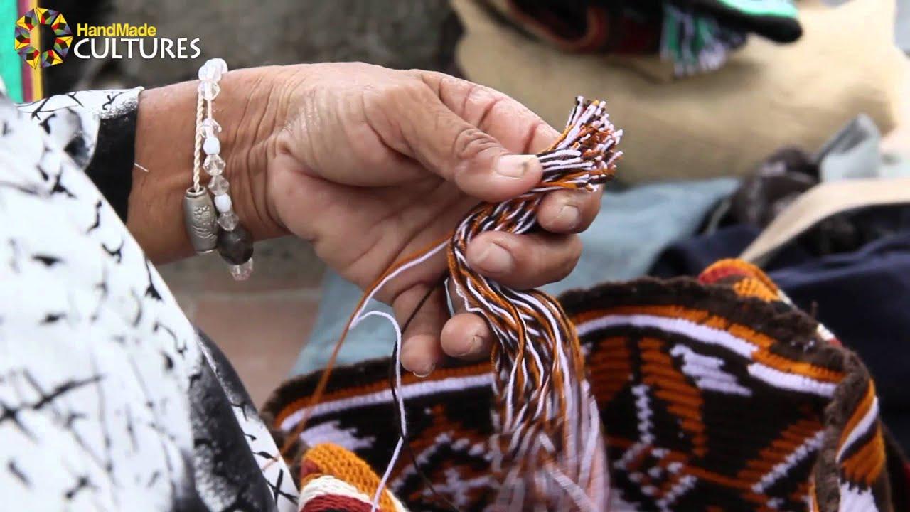 Mochilas Wayúu de Diseño con patrones y figuras geométricas ...