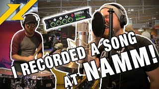 I Recorded A Song On The NAMM Show Floor! Sound Devices MixPre 6M Review (Big Cowboy Hats)