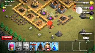 Clash of Clans Level 36: Point Man (walkthrough