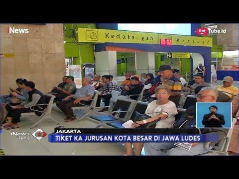 Puluhan Ribu Tiket Kereta Api H-3 Lebaran Idul Fitri Ludes Terjual - iNews Siang 05/03