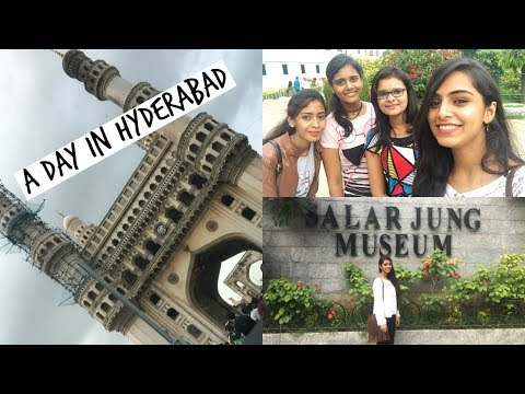 EXPLORING HYDERABAD CITY WITH MY YOUTUBE FAM ❤️ | TRAVEL VLOG