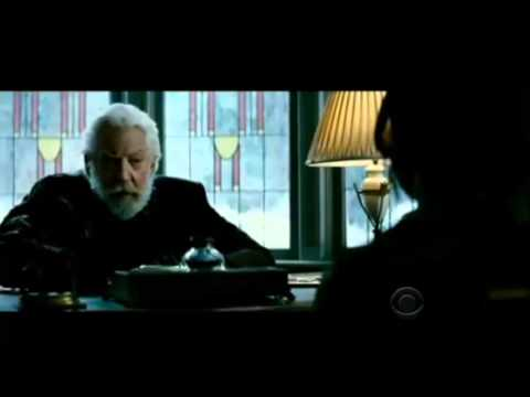 President Snow visits Katniss -Convince Me- - Catching ...