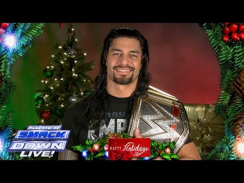 Superstars And Divas Wish The WWE Universe A Very Happy Holiday Season: SuperSmackDown, December 22,
