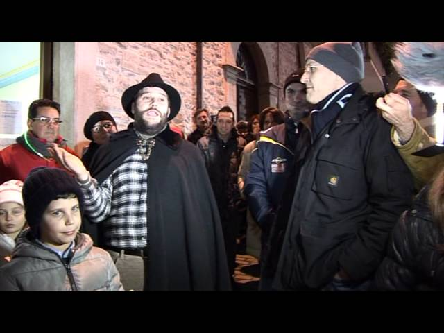 Gambatesa maitunat 31-12-2013: casa Telemolise squadra chiu gnocc e men ciufell