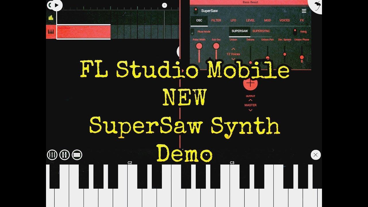 fl studio mobile apk full free download