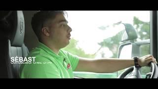 Sébastien, Conducteur routier de marchandises, formé chez AFTRAL