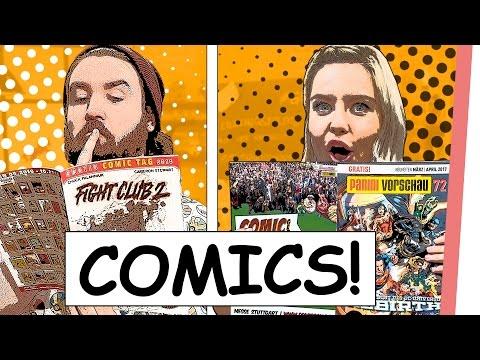 COMICS mit dem BLITZ | Kelly & Sturmwaffel in der Welt der COMICS| GMI