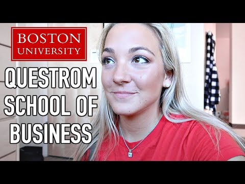 FIRST DAY OF COLLEGE VLOG! Boston University