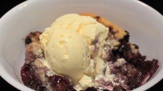 How To Make Fresh Blueberrie Cobbler ~ Easy ~ Yum!