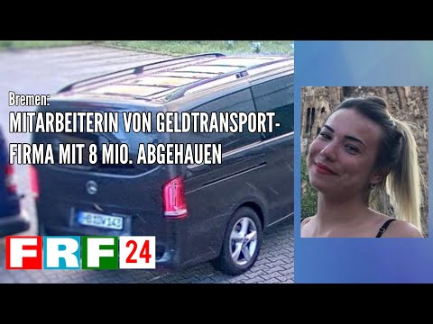 Bremen: Mitarbeiterin von Geldtransportfirma mit 8 Millionen abgehauen