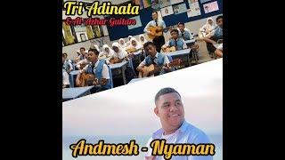 Andmesh - Nyaman II Cover By Sekelas Main Gitar dan Nyanyi (SMP Al-Azhar Medan)