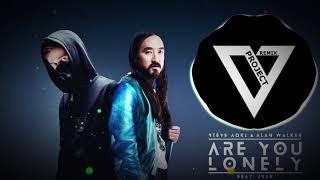 Alan Walker & Steve Aoki - Lonely (feat. ISÁK & Omar Noir) (V-Project Remix)