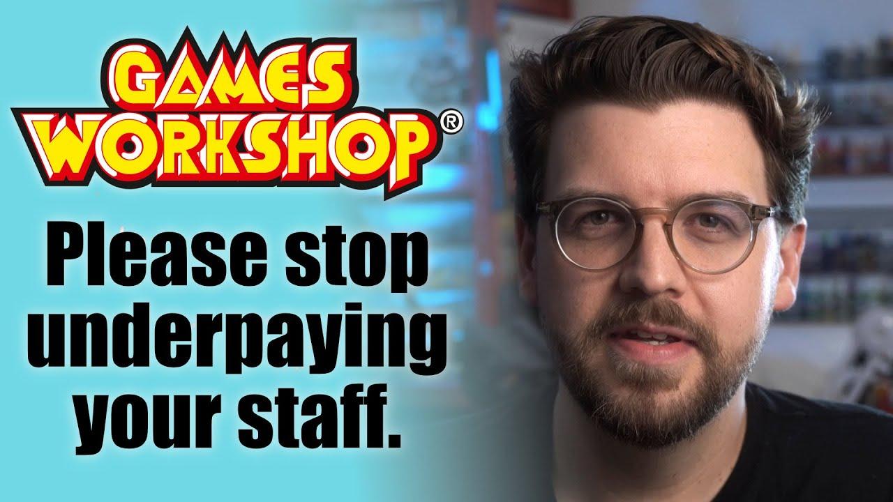 Dear Games Workshop