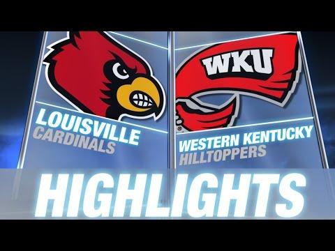 Louisville Vs Western Kentucky | 2014-15 ACC Men's Basketball Highlights