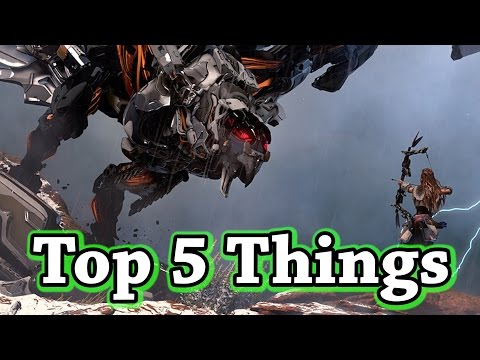 Top 5 Things I Want to See in Horizon Zero Dawn!