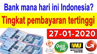 27-01-2020 Saudi riyal exchange rate INR to Indonesian rupiah by today Saudi riyal rate, SAR to INDR